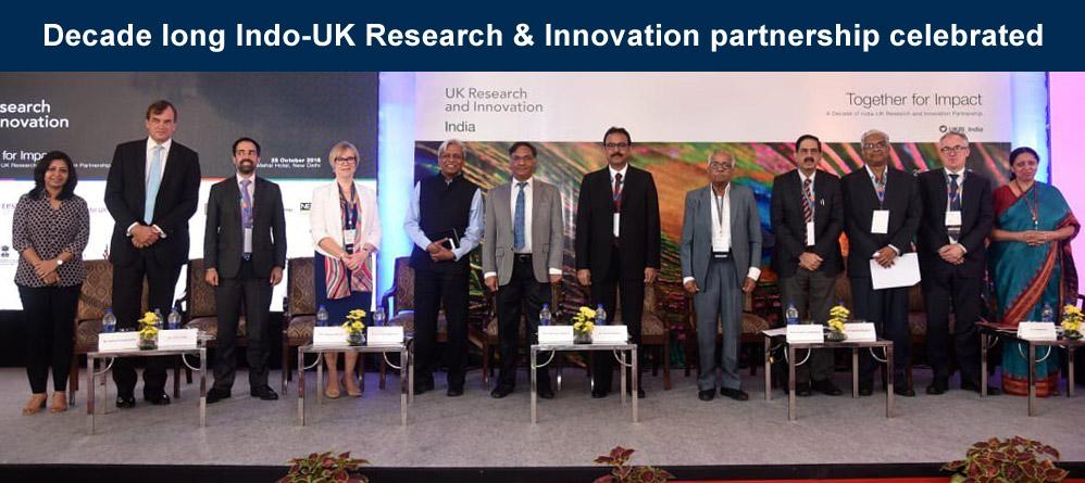 Decade long Indo-UK Research & Innovation partnership celebrated